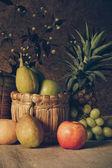 Stilleben med frukter. — Stockfoto