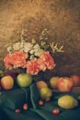 Stilleven met vruchten. — Stockfoto