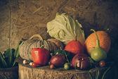 Still life Vegetables and fruits. — ストック写真