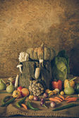 Still life  Vegetables, Herbs and Fruits  — Zdjęcie stockowe