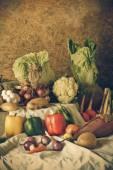 Still life  Vegetables, Herbs and Fruits  — ストック写真