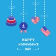 Happy independence day — Stock Vector #75913121