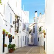 Typical street in Vejer de la Frontera, Andalusia, Spain. — Stock Photo #63018725