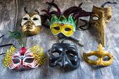 Karnevalsmasken — Stockfoto