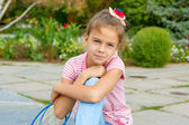 Portret piękne dziewczynki — Zdjęcie stockowe