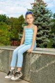 Beautiful little girl — Foto Stock