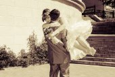 Bride and groom   — Zdjęcie stockowe