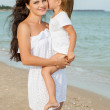 Mother and her little daughter hugging. — Stock Photo #59324949