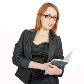 Beautiful business woman — Stock Photo