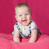 Retrato de um bebê — Fotografia Stock