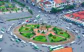 Asia traffic, motorbike, Ho Chi Minh city — Stock Photo