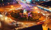 Quach Thi Trang roundabout, Ho Chi Minh city — Stock Photo
