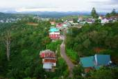 Dalat suburbs, Vietnam country — Stock Photo