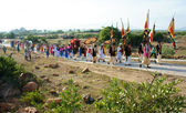 Amazing panoramic,Kate festival, Cham traditional culture — Stock Photo