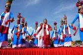 Amazing show, Vietnamese stadium, Kate carnival — Fotografia Stock