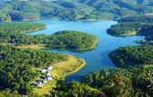 Fantastic landscape, eco lake, Vietnam travel — Stock Photo