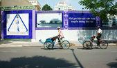 Vietnamese man, cyclo driver — Stock Photo