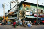 Chemical store, Kim Bien market — Stock Photo