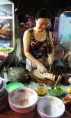 Vietnamese food, duck porridge — Stock Photo