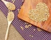 Soybean, soymilk, nutrition beverage — Stock Photo
