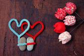 Valentine background, Feb 14, i love you — Stockfoto