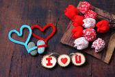 Valentine background, Feb 14, i love you — ストック写真
