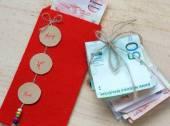 Vietnam Tet, red envelope, lucky money — Stock Photo