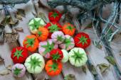 Abstract art, fruit  handmade, Vietnam Tet — Stock Photo