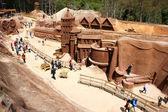 Dalat, Vietnam tourism, sculpture tunnel  — ストック写真