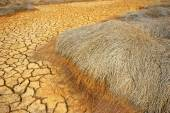 drought land, climate change, hot summer — Stock Photo