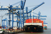 Transportation, export, import, Ho Chi Minh port — Stockfoto