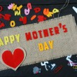 Happy mothers day, make gift for mom — Stock Photo #70882119