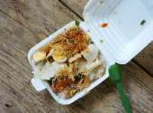Vietnamese food, breakfast, fast meal  — Stock Photo