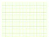 Green square graph paper — Stock Photo