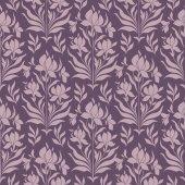 Patroon met bloemen — Stockvector