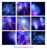 Abstract background set — Stock Vector