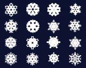 Snowflakes 4 — Stock Vector