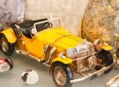 Vintage model car — Stock Photo