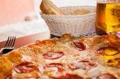 Pizza — Stok fotoğraf