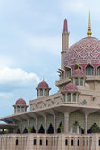 Close up view of Putrajaya Mosque — Foto de Stock