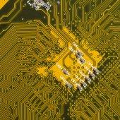 Printed circuit board. — Stock Photo