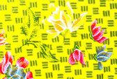The beautiful of art Malaysian and Indonesian Batik Pattern — Stock Photo