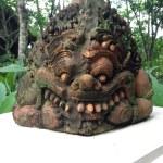 Statue of Rahu in Chaingmai — Stock Photo #76984957