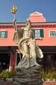 Detail of the statue of Poseidon,Thailand — Stock Photo