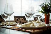 Fine Dinning — Stock Photo