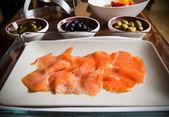 Smoked Salmon — Stock Photo