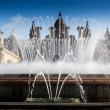 Magic Fountain with Museu Nacional DArt de Catalunya — Stock Photo #67395557