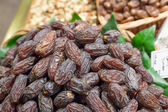 Dates on sale at a market stall — Stockfoto