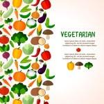 Vegetables background. — Stock Vector #74498379