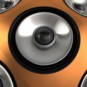Speaker, 3D — Foto de Stock